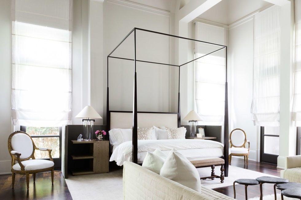 پارچه های اتاق خواب را ساده انتخاب کنید