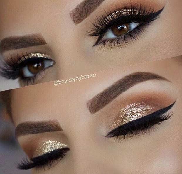 چشمان طلایی