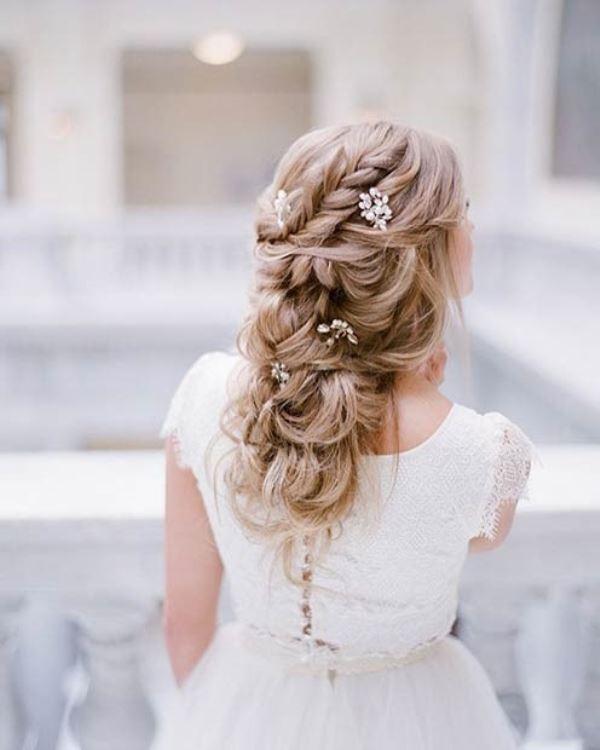 مدل موی عروس فوق العاده رمانتیک