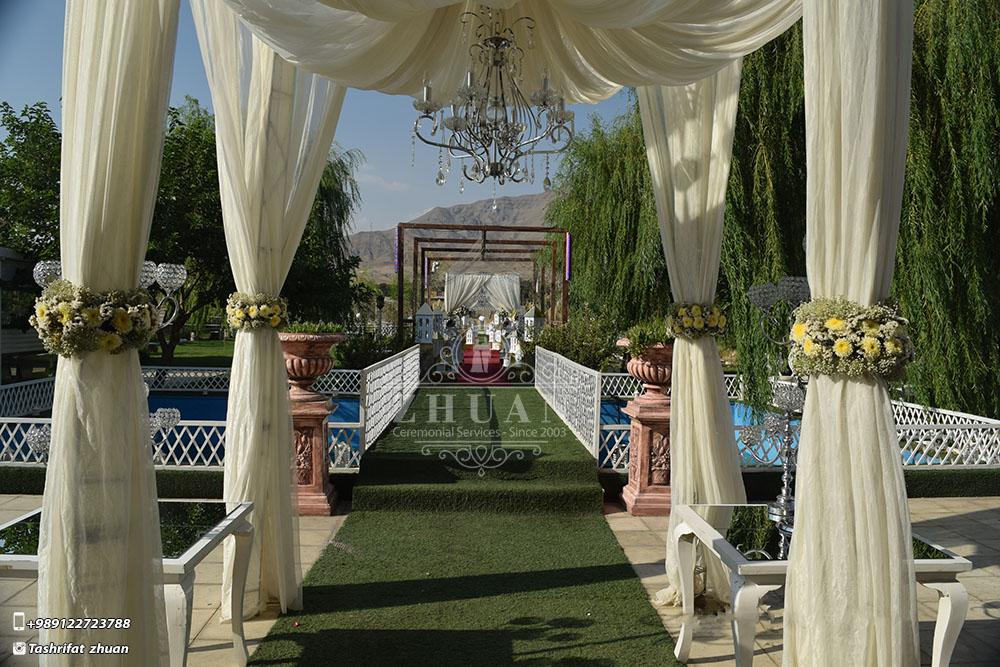 تشریفات ژوان | ورودی باغ عروسی