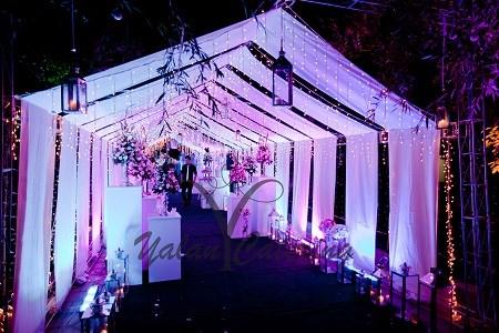 باغ و تشریفات یلان | ورودی مهمانان عروسی