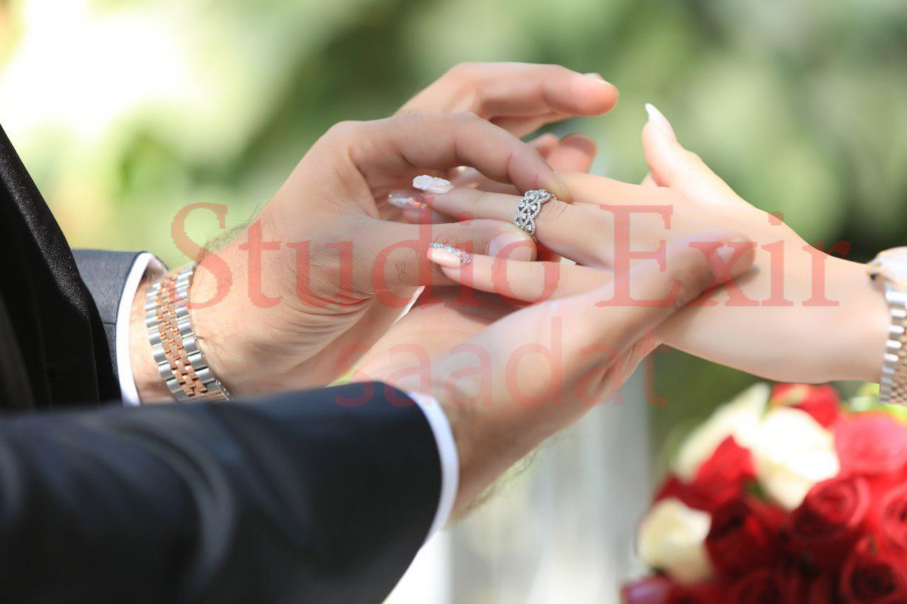 آتلیه  اکسیر سعادت   حلقه ازدواج