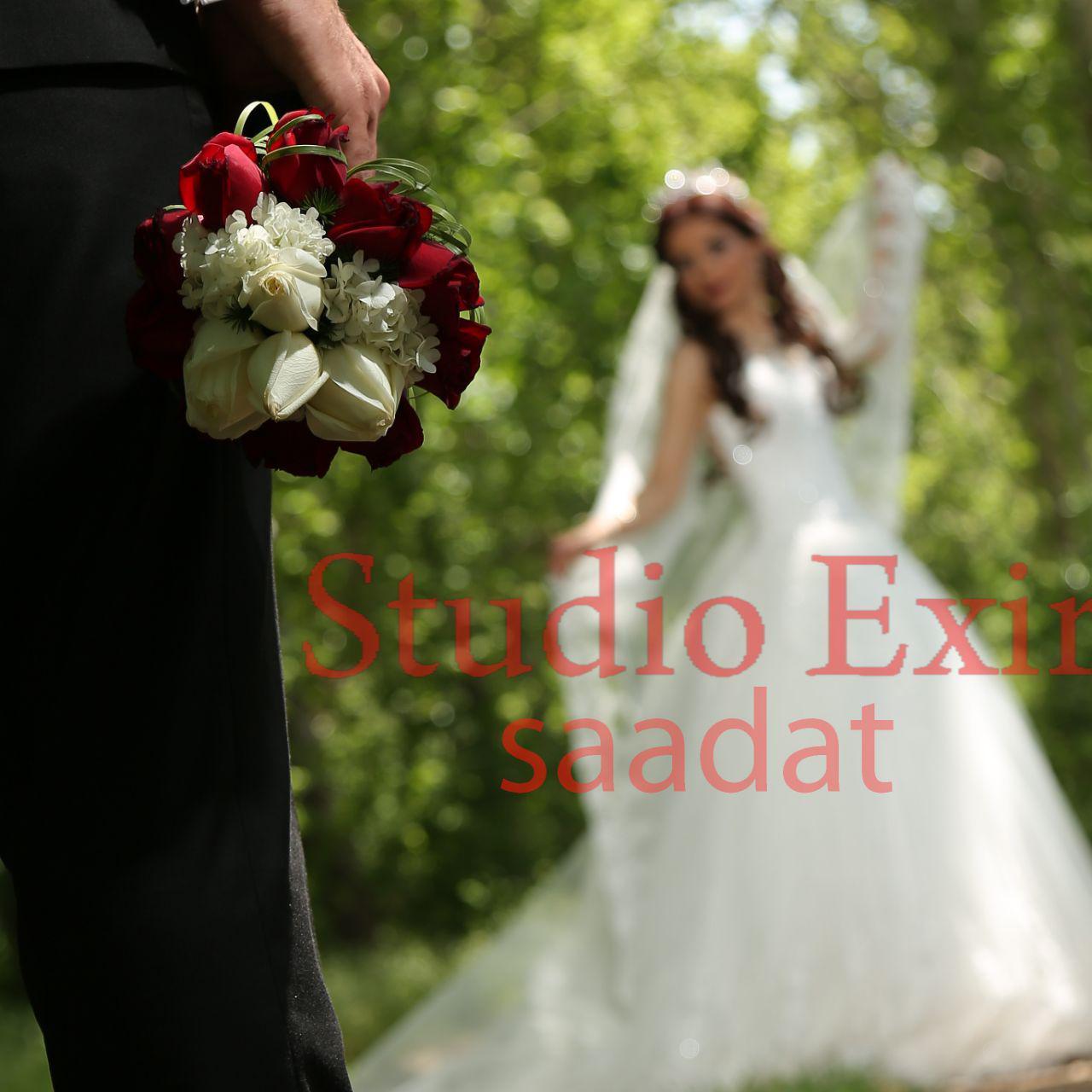 آتلیه  اکسیر سعادت   عروس داماد