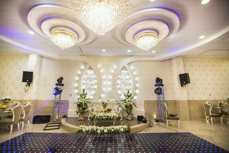 تالار پذیرایی آرمانی | جایگاه عروس و داماد