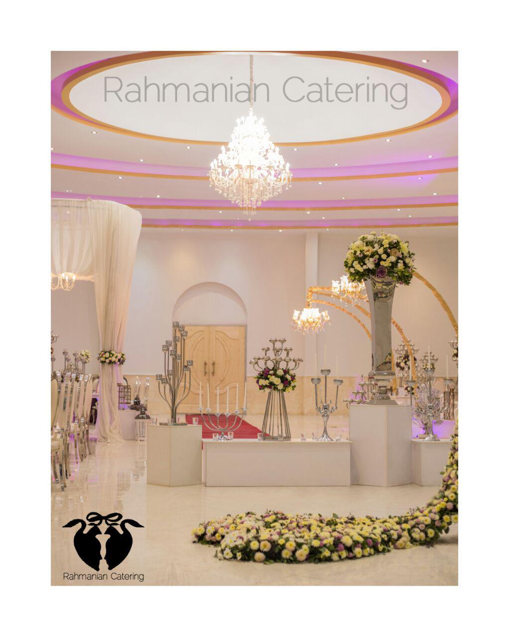 تشریفات رحمانیان   دیزاین تالار عروسی