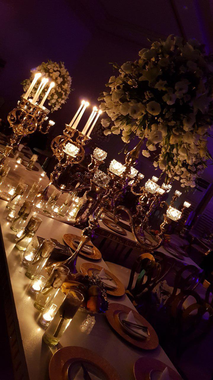 تشریفات مجالس پرنسس | نور پردازی ویژه عروسی