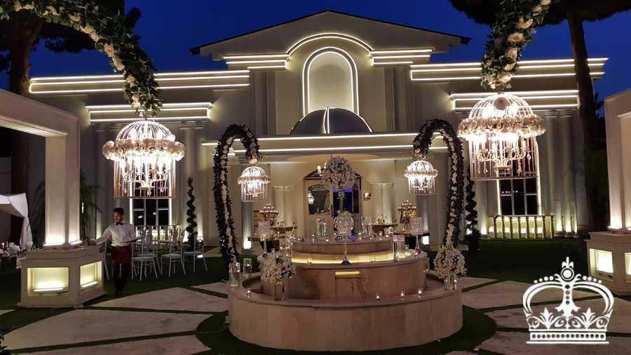 تشریفات مجالس پرنسس | عمارت رویایی عروسی