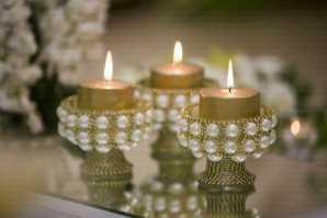 تالار پذیرایی آرمانی | شمع آرایی