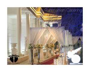 تشریفات رحمانیان   دیزاین ورودی عروسی
