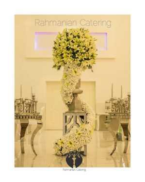 تشریفات رحمانیان   گل آرایی سالن اصلی