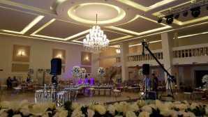 تشریفات مجالس پرنسس | چیدمان داخل سالن عروسی