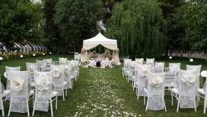 تشریفات مجالس پرنسس | مراسم عقد در باغ