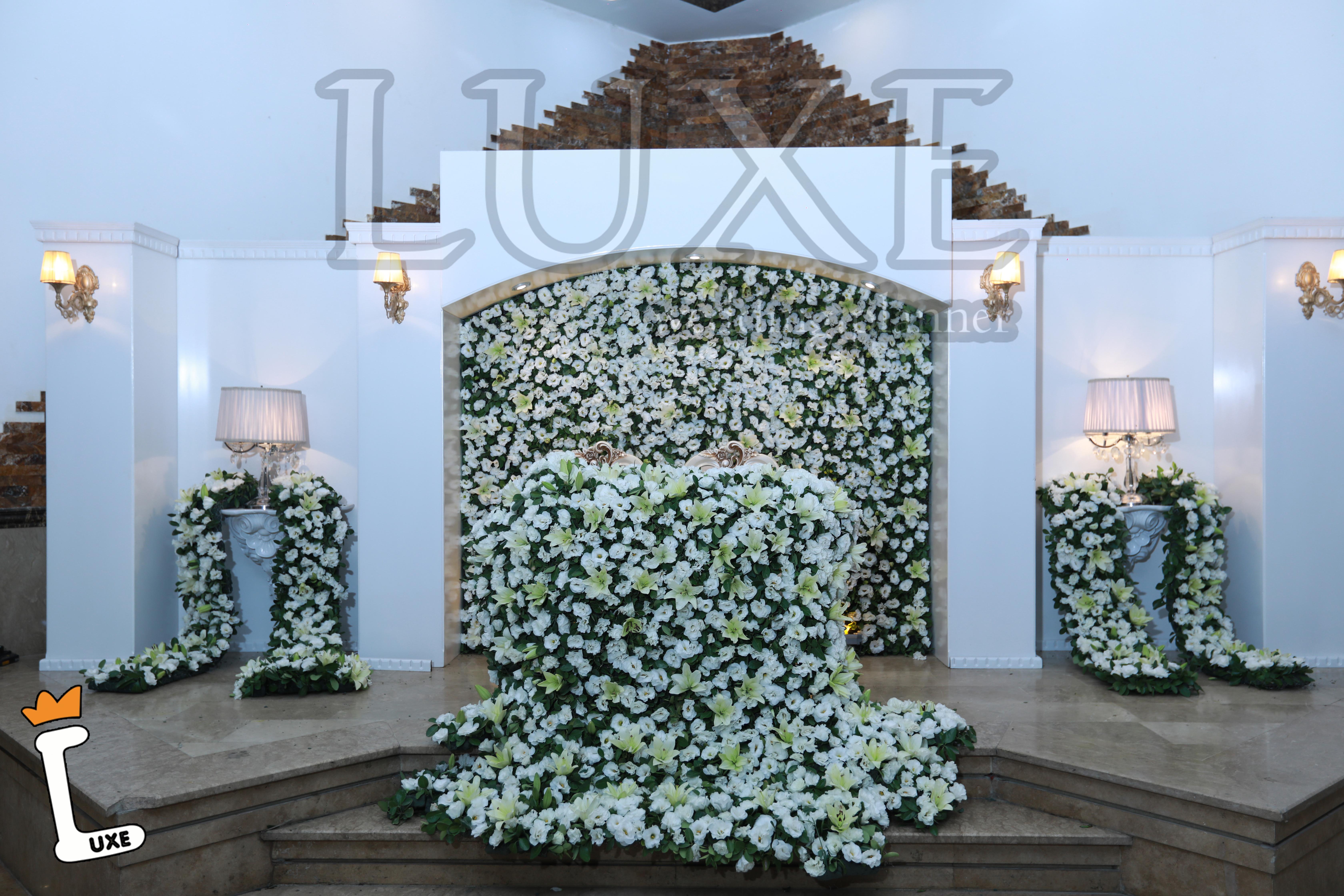 جایگاه ویژه عروس و داماد، تشریفات لوکس