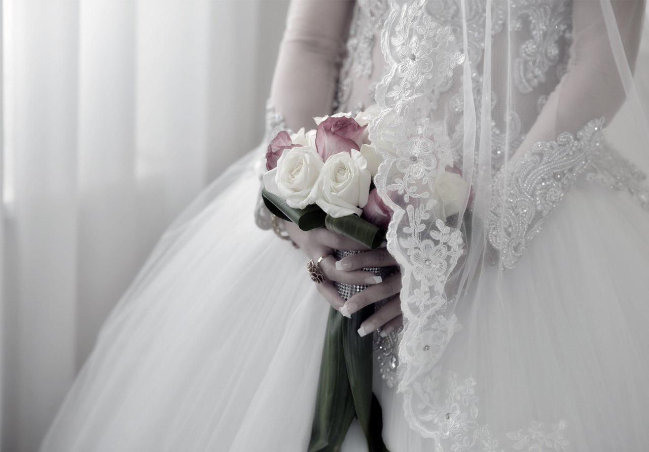 آتلیه عکس و فیلم فریما | دسته گل عروس