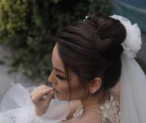 استودیو عکس و فیلم روجا | نیمرخ عروس