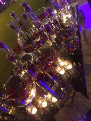 تشریفات بوژان | دیزاین میز عروسی در باغ