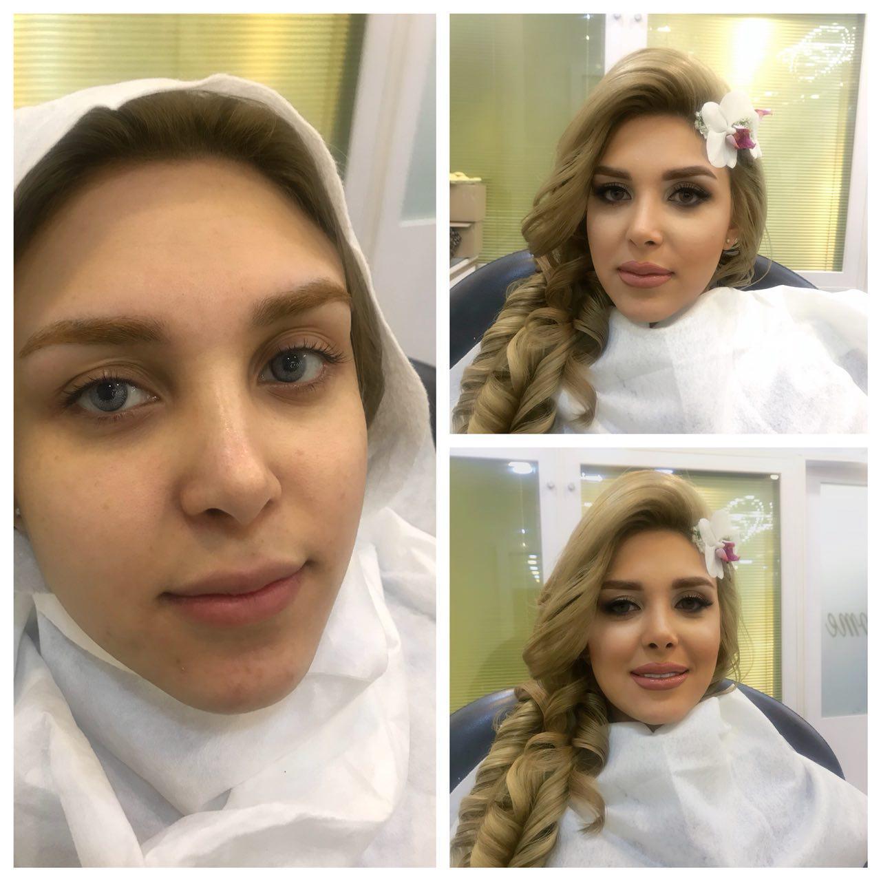 سالن آرایش سالومه | آرایش لایت عروس سالومه