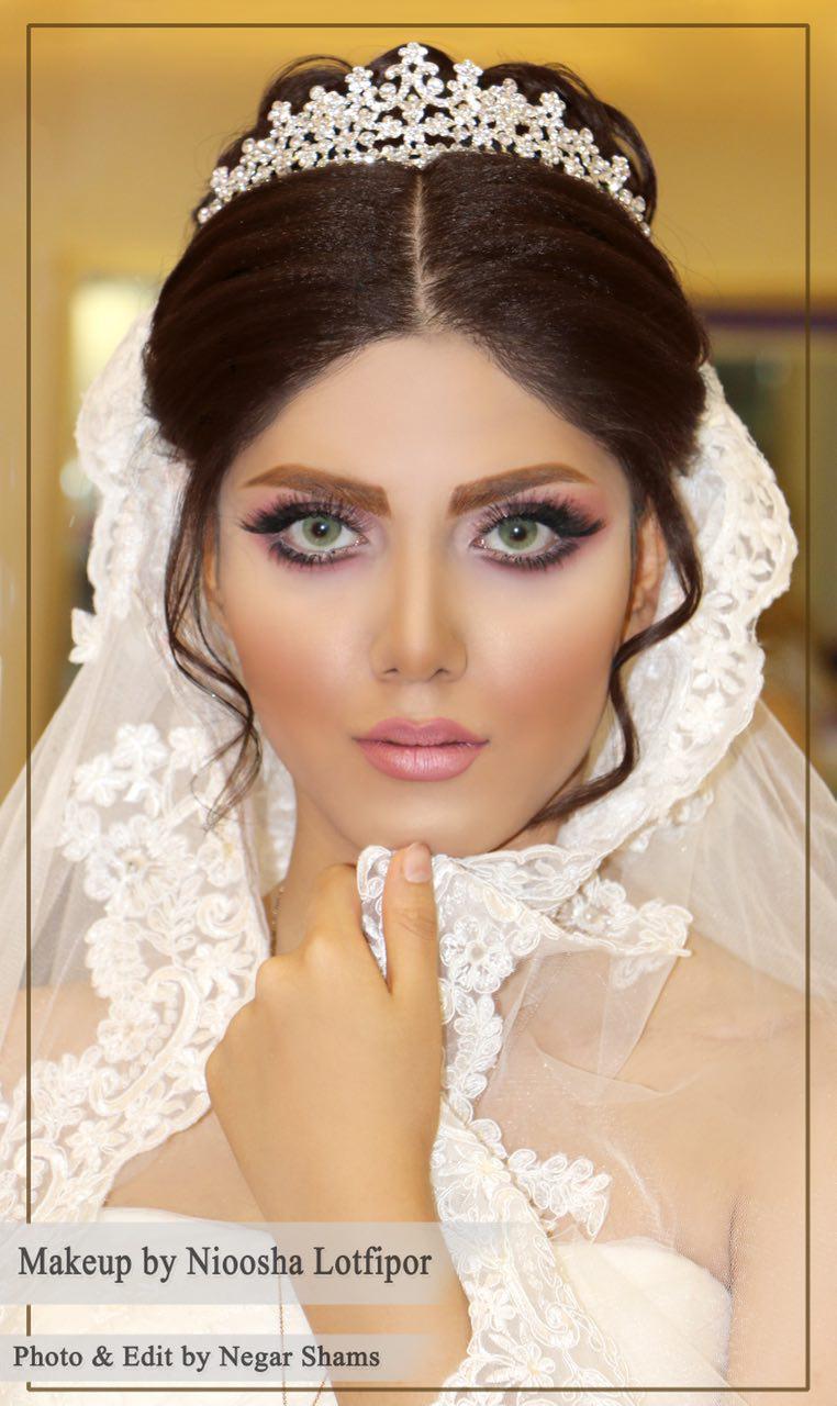 سالن عروس سمیلار | شینیون میکاپ عروس