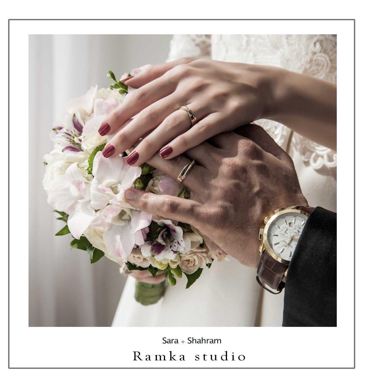 آتلیه عکس و فیلم رامکا | دسته گل عروس