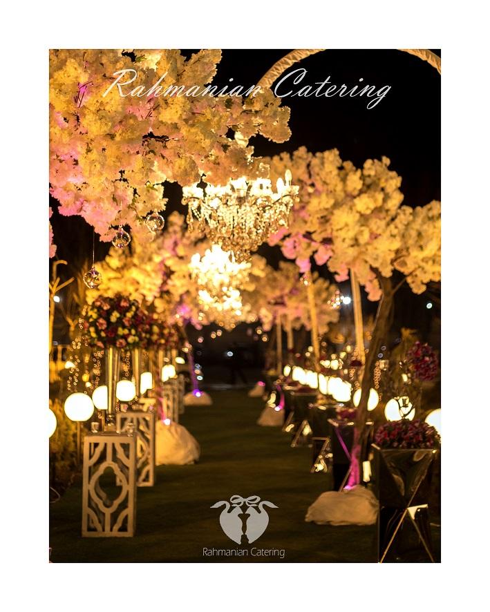 تشریفات رحمانیان   گل آرایی عروسی