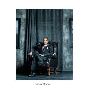 آتلیه عکس و فیلم رامکا | ژست داماد