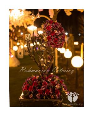 تشریفات رحمانیان   چیدمان میز عروسی