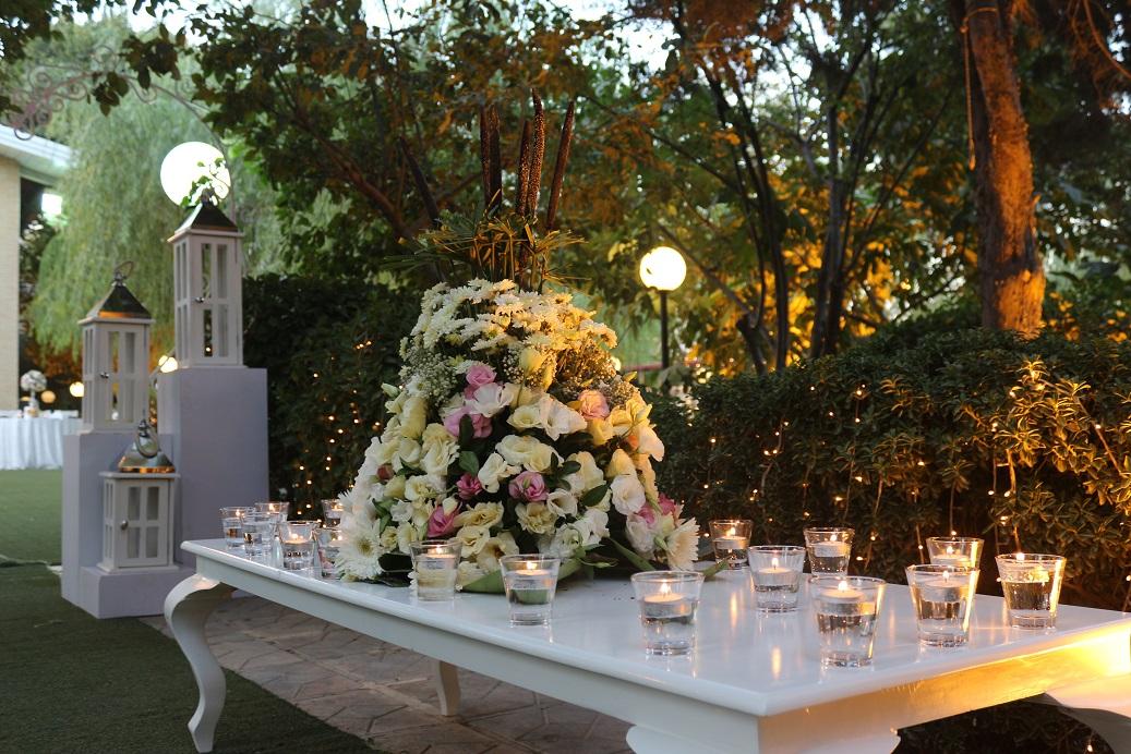 تشریفات ژوان | دکوراسیون عروسی