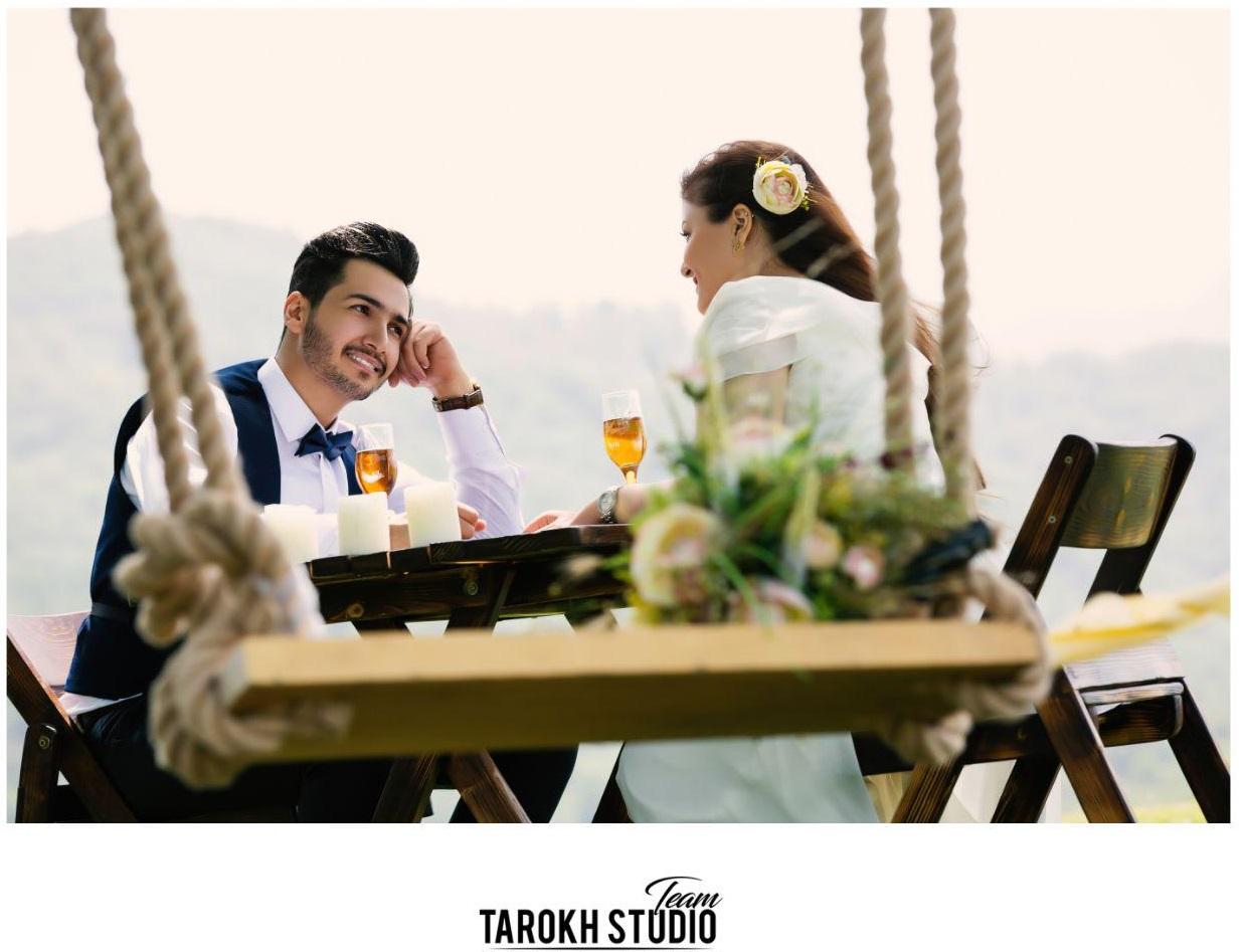 آتلیه عکس و فیلم تارخ   عکس عاشقانه