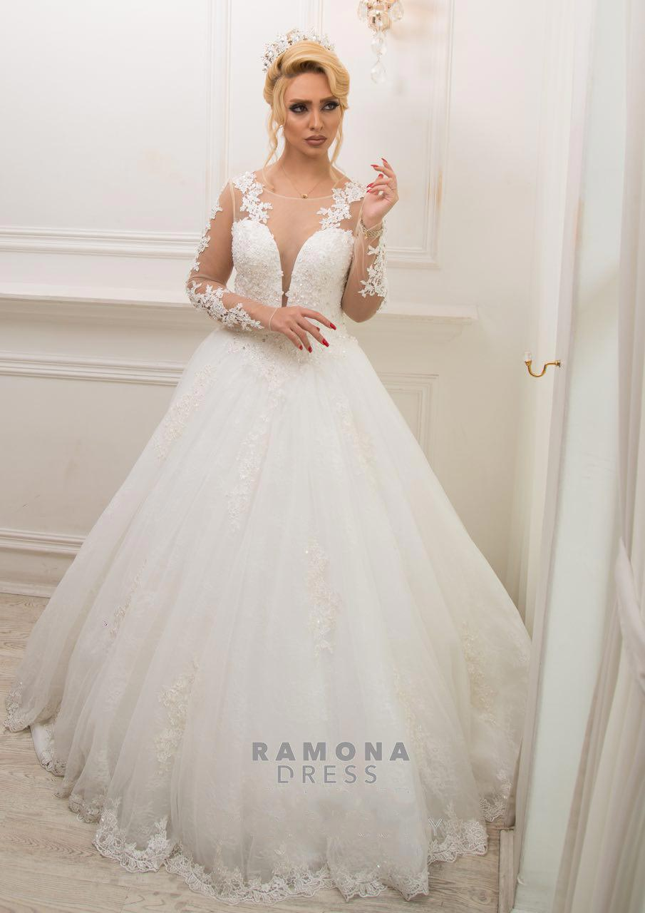 مزون رامونا (تاج محل سابق) | دوخت و سفارش لباس عروس