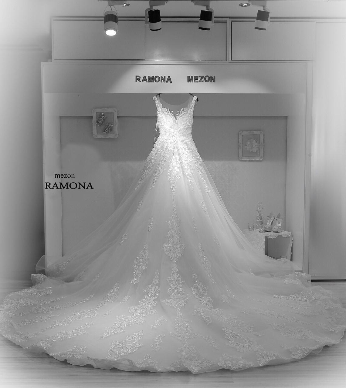 مزون رامونا (تاج محل سابق) | لباس عروس مدرن