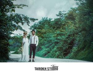 آتلیه عکس و فیلم تارخ   عکس عروسی اسپرت