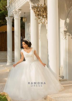مزون رامونا (تاج محل سابق) | لباس عروس ترک
